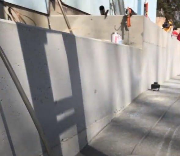 Southside Concrete Retaining Walls